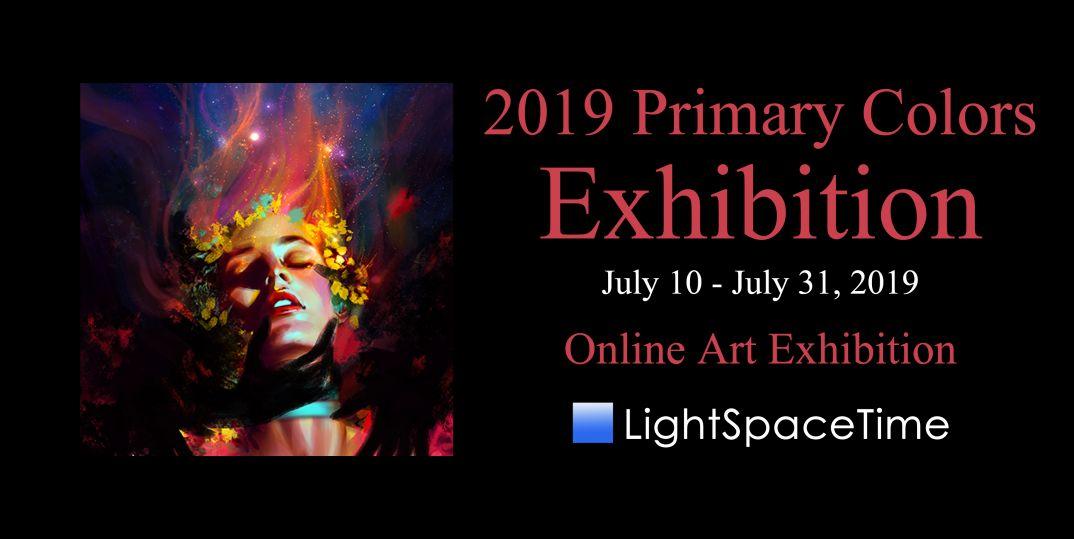 Primary Colors 2019 - Art Exhibition Event Postcard
